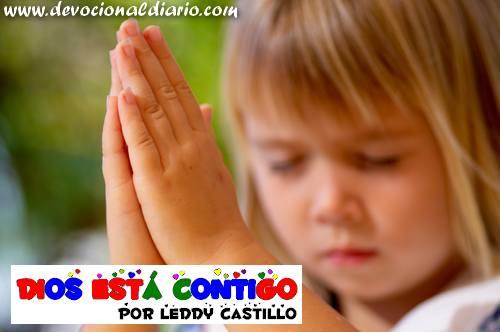 Dios está contigo – Leddy Castillo – Devocional Infantil
