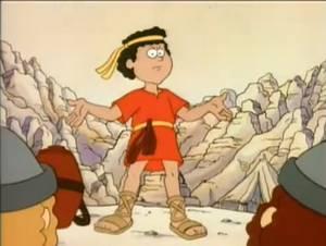 David y Goliat - Serie Anime