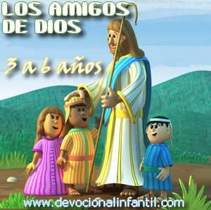Los amigos de Dios – Clases – Niños de 3 a 6 años