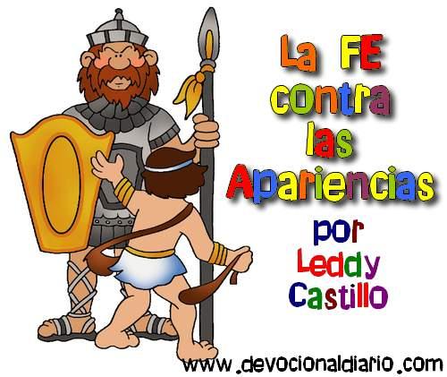 La FE contra las apariencias – Leddy Castillo – Devocional Infantil