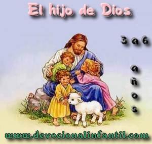 El hijo de Dios – Clases – Niños de 3 a 6 años