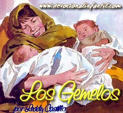 Los Gemelos – Leddy Castillo – Devocional Infantil
