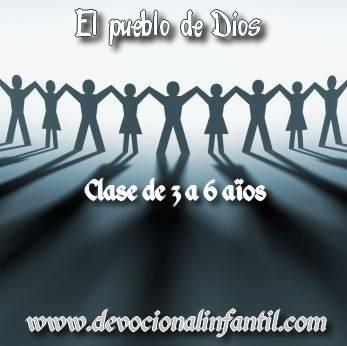 El pueblo de Dios – Clases – Niños de 3 a 6 años