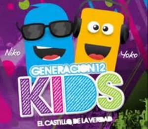 Llename–Generacion 12 Kids- Cantos para Niños