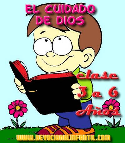 El cuidado de Dios – Clases – Niños de 3 a 6 años