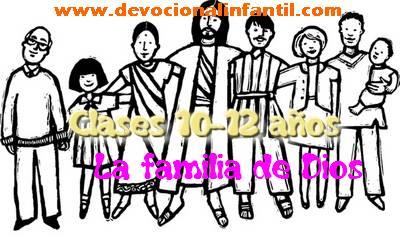 La familia de Dios – Clases – Niños de 10 a 12 años