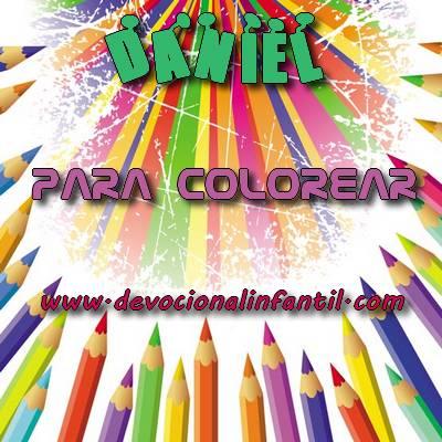 Daniel – Dibujos para Colorear