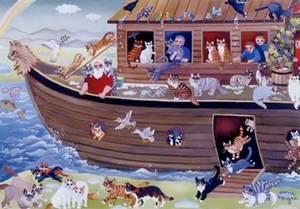 En el arca de Noé – Cantada por niños – Cantos para Niños