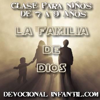La familia de Dios – Clases – Niños de 7 a 9 años