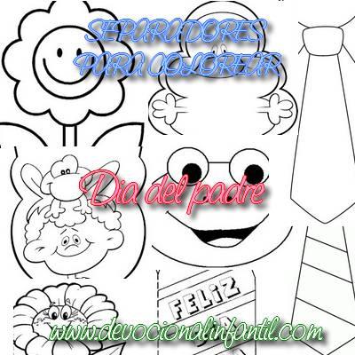 Juegos de Día del Padre para colorear, imprimir y pintar