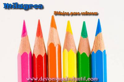 Milagros  – Dibujos para Colorear