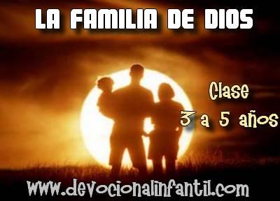La familia de Dios – Clases – Niños de 3 a 6 años