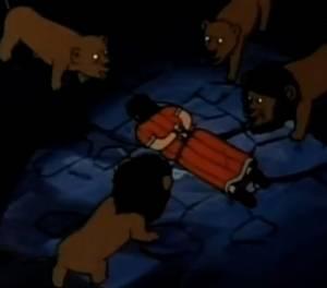 Daniel y los leones – El Super Libro – Serie Anime