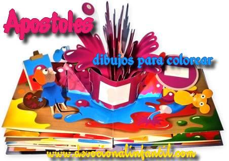 Apostoles  – Dibujos para Colorear