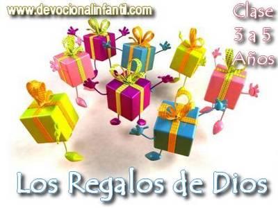 Los regalos de Dios – Clases – Niños de 3 a 6 años