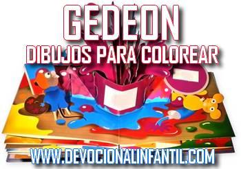 Gedeon – Dibujos para Colorear