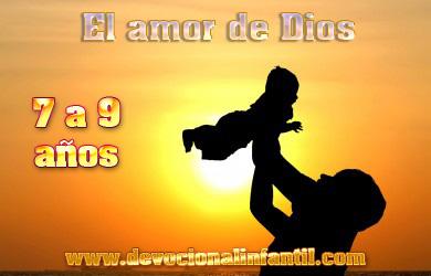 El amor de Dios – Clases – Niños de 7 a 9 años