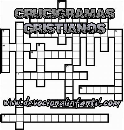 Crucigramas cristianos – Manualidad