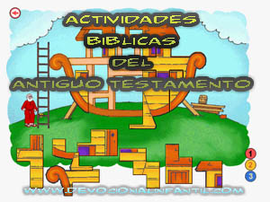 Actividades Biblicas del antiguo testamento – Manualidad