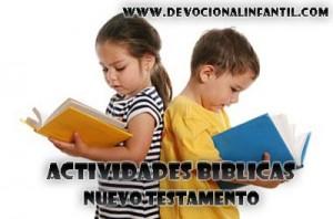 Actividades Biblicas del Nuevo Testamento – Manualidad
