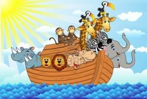 El arca de Noe (Karaoke) – Cantada por niños – Cantos Infantiles