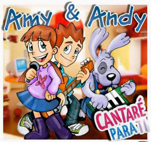 Estaremos Esperándote (Video Karaoke) – Amy y Andy – Cantos para Niños