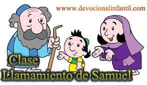 Llamamiento de Samuel – Clase