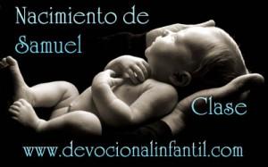 Nacimiento de Samuel – Clase