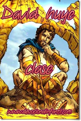 David es huye – Clase