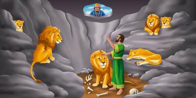 Daniel en el foso de los leones – Cantada por niños – Cantos para Niños