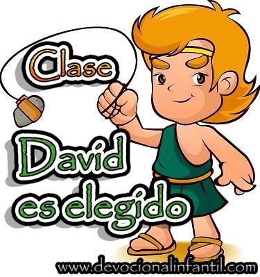 David es elegido – Clase
