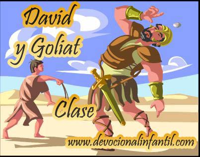 David y Goliat – Clase