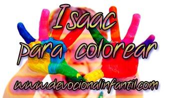 Isaac – Dibujos para colorear