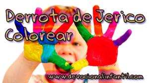 Derrota de Jerico – Dibujos para colorear