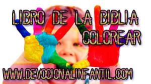 Libro de la Biblia – Dibujos para colorear