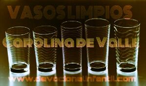 Vasos limpios  – Carolina de Valle – Devocional Infantil
