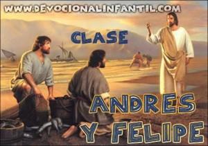Andres y Felipe – El evangelio de Cristo del evangelio de Juan – Clase