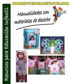manualidades con materiales de desecho