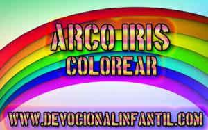 Arco Iris – Dibujos para colorear