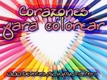 Corazones – Dibujos para colorear
