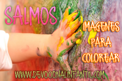 Salmos – Dibujos para colorear