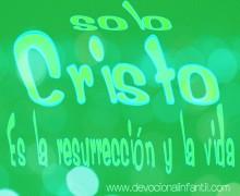 Solo Cristo – Tarjeta