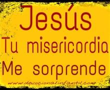 Tu misericordia me sorprende – Tarjeta