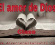 El amor de Dios – El hijo de Dios – Clase